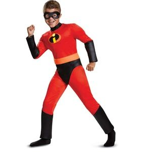 NWT Incredibles 2 Classic Muscle Costume Dash